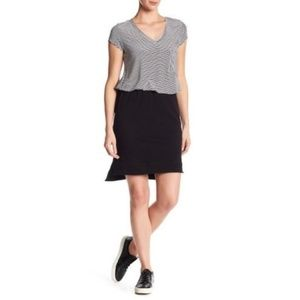 New Nordstrom H by Bordeaux French Terry Skirt